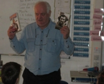 Visit of Author Michael Smith
