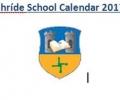 Scoil Bhríde Calendar 2017-2018