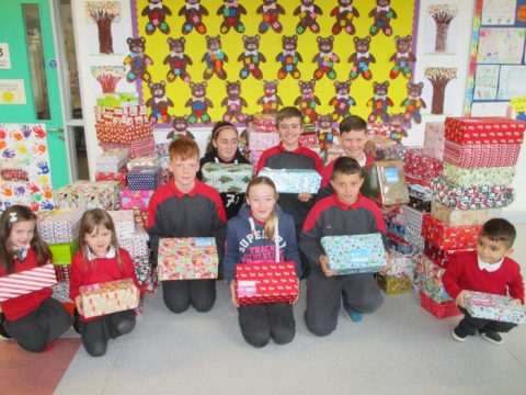Team Hope Christmas Shoebox Appeal 2017