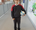 Scoil Bhríde pupil scores for Shamrock Rovers!