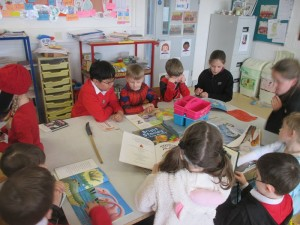 3rd Class read with Junior Infants