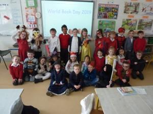 Múinteoir Fiona's class