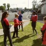 Official opening of the Active School Walkway
