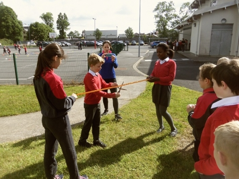 Active School Walkway- Official Opening