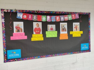 PHYSICAL ACTIVITY Wall of Fame